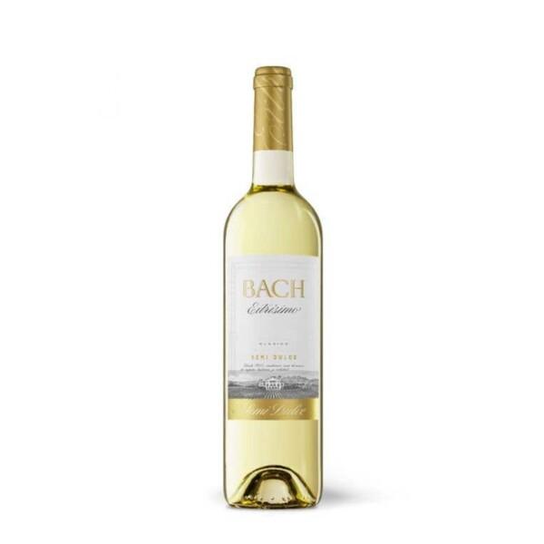 Vino Blanco D.O. Catalunya Bach Viña Extrísima Semidulce 75 cl.