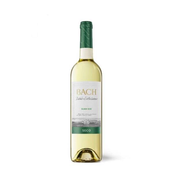 Vino Blanco D.O. Catalunya Bach Viña Extrísima Seco 75 cl.