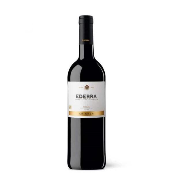 Vino Tinto D.O. Rioja Crianza Ederra 75 cl.