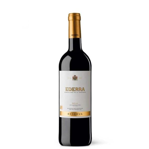Vino Tinto D.O. Rioja Reserva Ederra 75 cl.