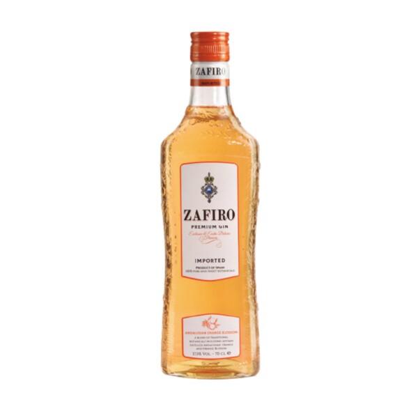 Gin Zafiro Premium Orange 70 cl.
