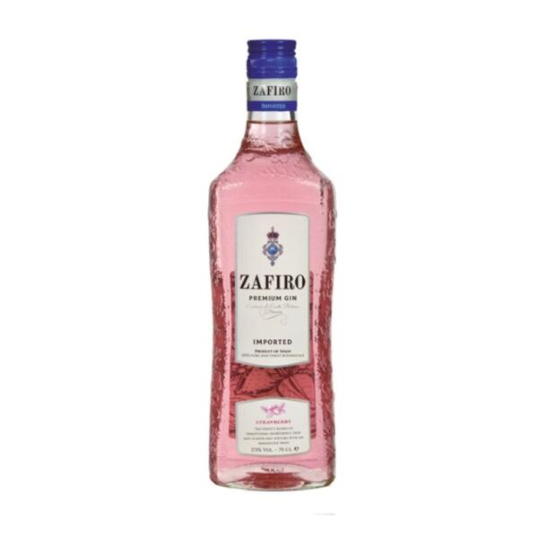 Gin Zafiro Premium Strawberry 70 cl.