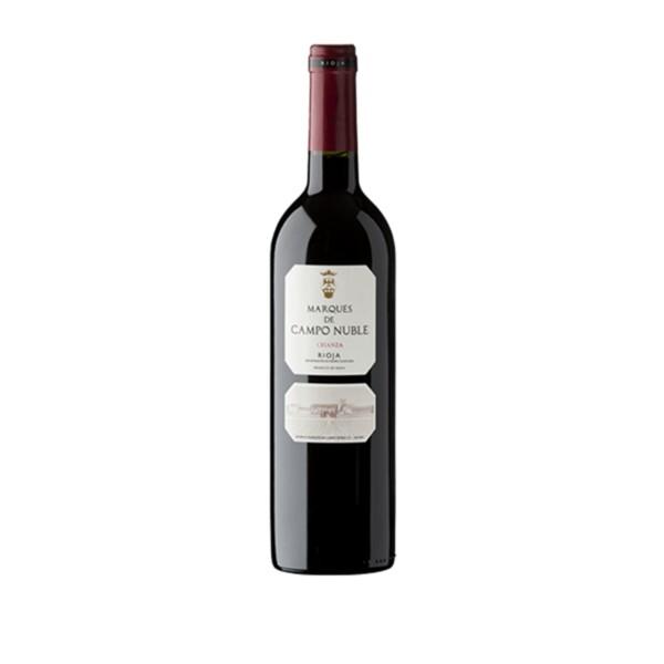 Vino Tinto D.O. Rioja Crianza Marqués de Campo Nuble 75 cl.