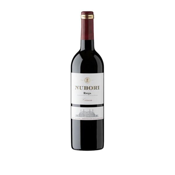 Vino Tinto D.O. Rioja Crianza Nubori 75 cl.