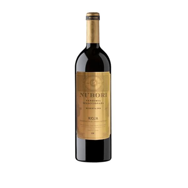 Vino Tinto D.O. Rioja Reserva Vendimia Seleccionada Nubori (Añada 2015) 75 cl.