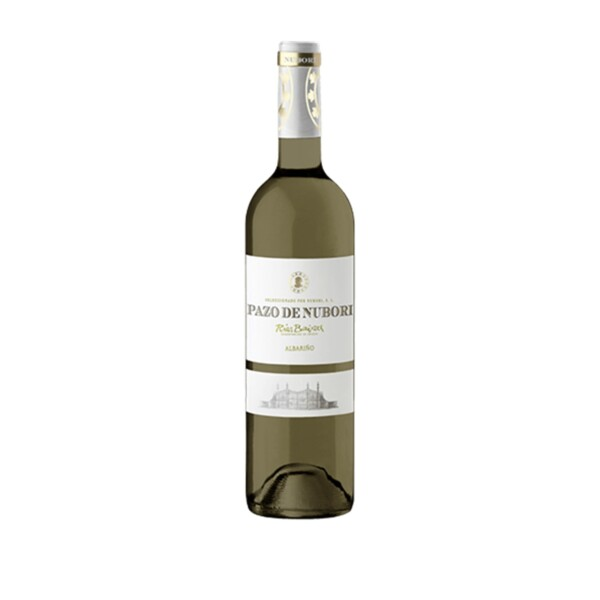 Vino Blanco Albariño D.O. Rias Baixas Pazo de Nubori 75 cl.