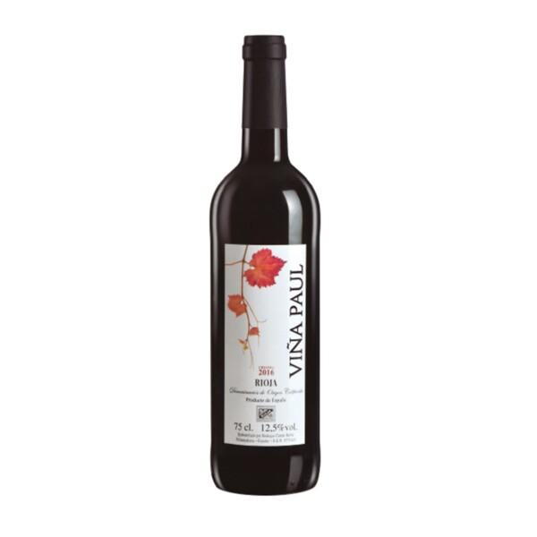 Vino Tinto D.O. Rioja Crianza Viña Paul 75 cl.
