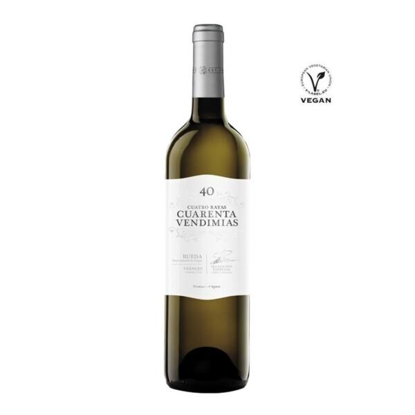 Vino Blanco D.O. Rueda Verdejo 40 Vendimias 75 cl.