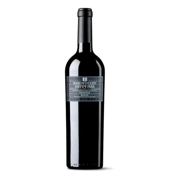 Vino Tinto D.O. Rioja Reserva Barón de Ley 7 Viñas 75 cl.