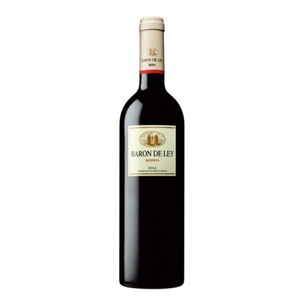 Vino Tinto D.O. Rioja Reserva Barón de Ley 75 cl.