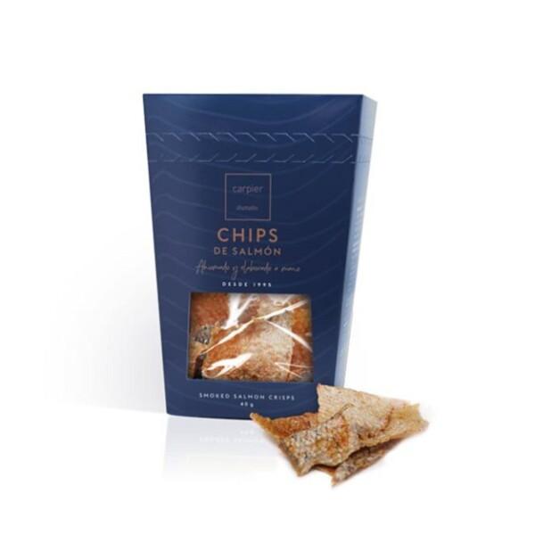 Chips de Salmón Ahumado 40 g