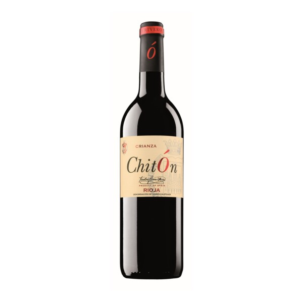 Vino Tinto D.O. Rioja Crianza Chitón 75 cl.