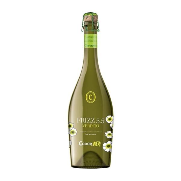 Vino Blanco Verdejo Frizz Codornew 75 cl.