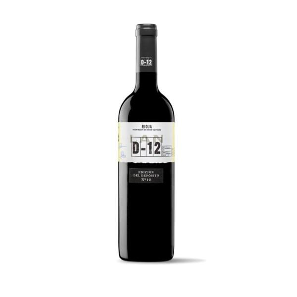 Vino Tinto D.O. Rioja Crianza Lan D-12 75 cl.
