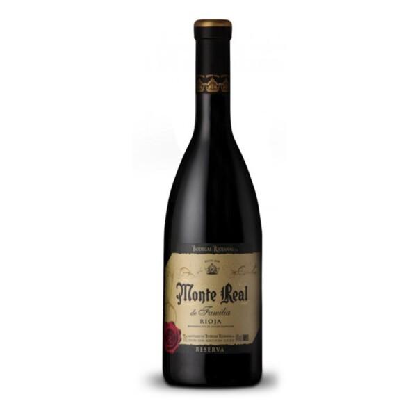 Vino Tinto D.O. Rioja Reserva de la Familia Monte Real 75 cl.