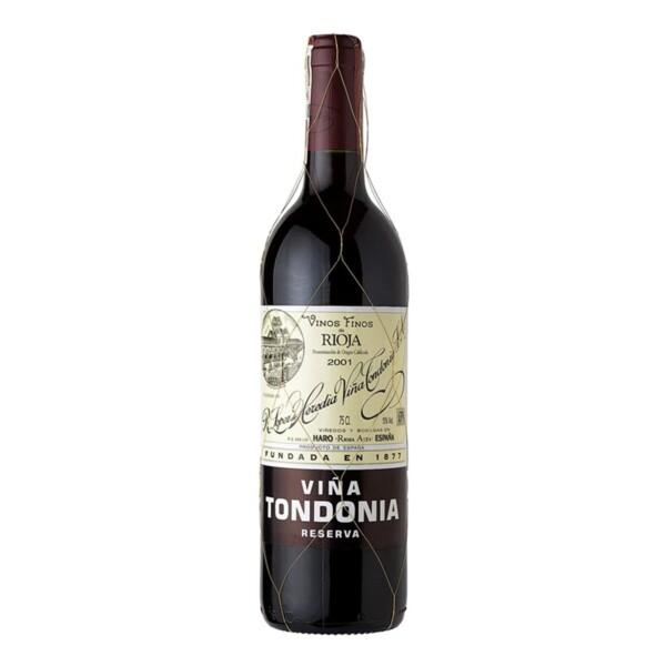 Vino Tinto D.O. Rioja Reserva Viña Tondonia 75 cl.