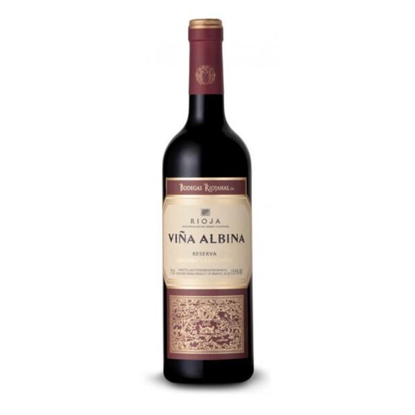 Vino Tinto D.O. Rioja Reserva Viña Albina Selección 75 cl.