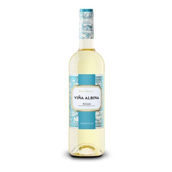 Vino Blanco D.O. Rioja Viña Albina Semidulce 75 cl.