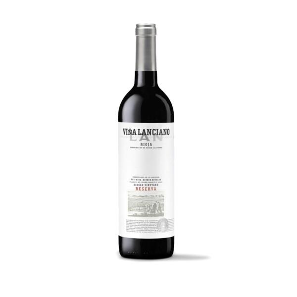 Vino Tinto D.O. Rioja Reserva Viña Lanciano 75 cl.
